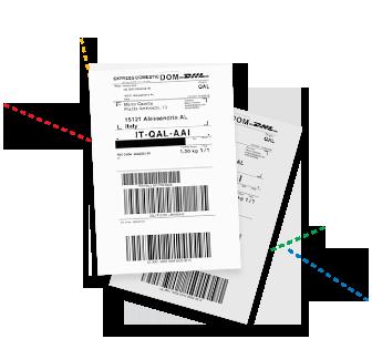 stampa etichetta corrieri